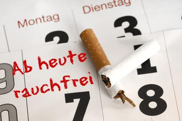 Vorsatz Nichtraucher werden