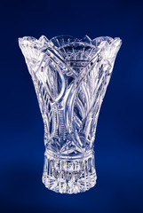crystal vase for flowers