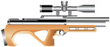 Pneumatic truncated rifle with an telescopic sight