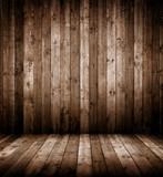 Innenraum aus Holz