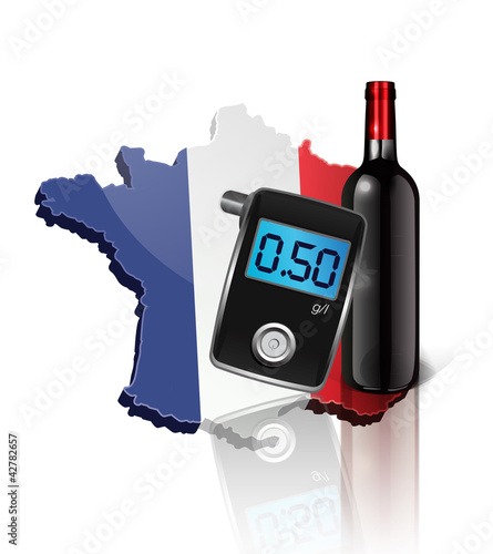 vin et ethylotest en france