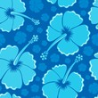 Hibiscus seamless background 1