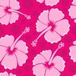 Hibiscus seamless background 3