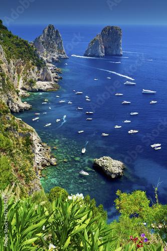Leinwanddruck Bild Capri