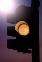 semaforo arancione