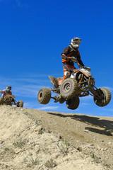 Quads jumping