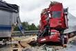 Horrorcrash eines Lkw - 42787847