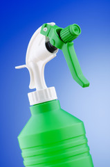 Garden sprayer against gradient background