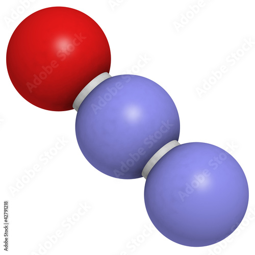 Nitrous oxide (N2O, laughing gas)