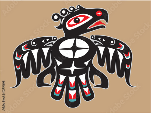 Thunderbird - Native American Style