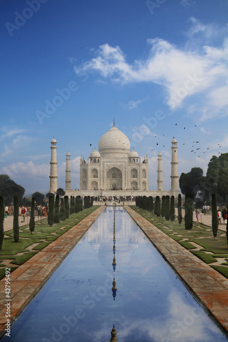 Taj Mahal in Agra, India