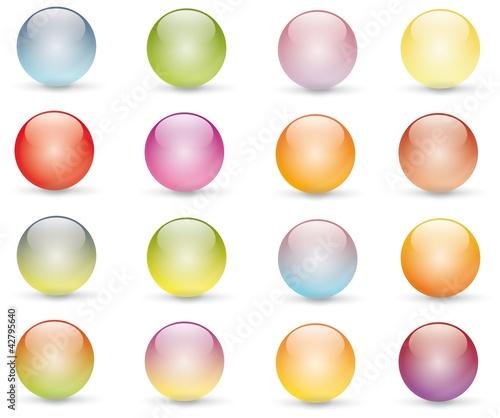 colored bubble
