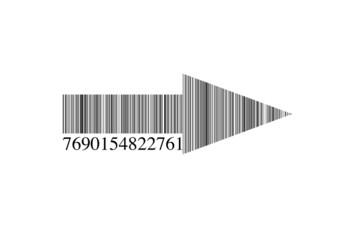 Código de barras flecha