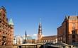 Hamburger Speicherstadt und Katharinenkirche