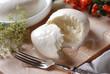 mozzarella di bufala campana freschissima - due