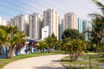 apartment near the park with jogging track