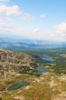 Top view of Karakol lakes in Altai mountains. Altai, Suberia