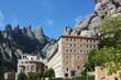 Abbey Santa Maria de Montserrat, Catalonia, Spain.