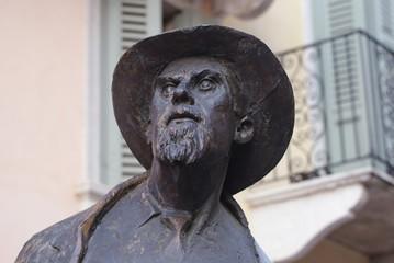Roberto Tiberio Barbarani, poet, Verona