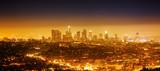 Los Angeles, night panorama