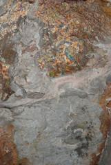 Natural shale rock