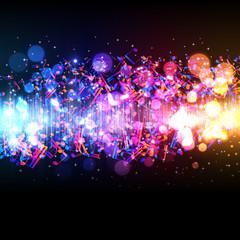 music equalizer wave