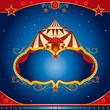 Circus magic leaflet