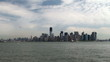 View of NYC from the Hudson River (from Liberty Island NYC)
