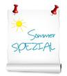 Papierrolle Sommer spezial