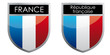 france flag emblem