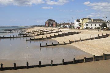 Beach at Bognor Regis. Sussex. England