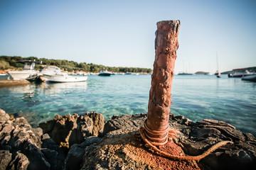 Anchor pole