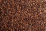 Fototapety Coffee beans closeup background