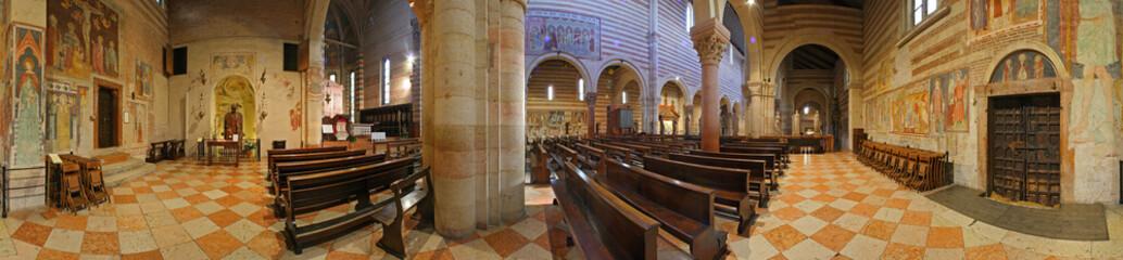 Verona, San Zeno, gli affreschi