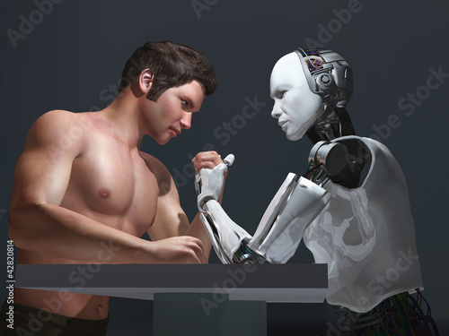 human-robot competition