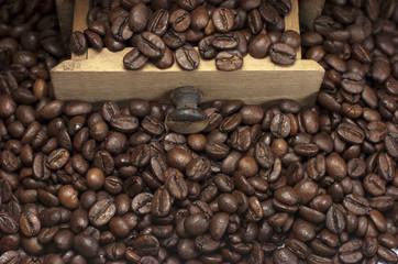 Café, molinillo de café