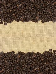 Fondo, textura natural, café