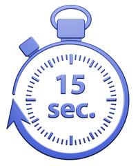 15 Secondes Chrono - Bleu