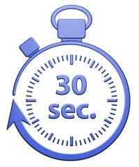 30 Secondes Chrono - Bleu
