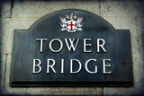 Signposting, Tower Bridge, London