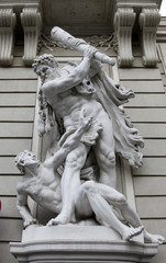 Statue of Hercules and Busiris, Hofburg, Vienna