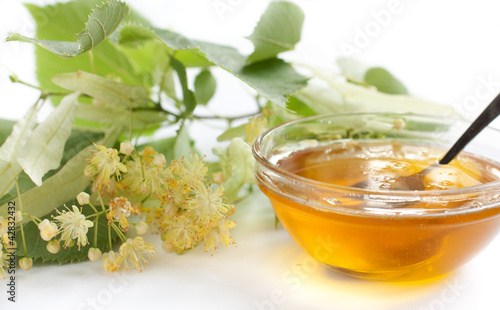 Honey and lime flowers