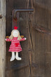 Der Weihnachtsengel an der Türe