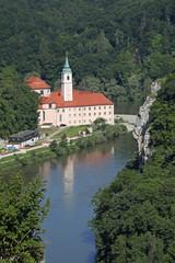 Donaudurchbruch, Kloster Weltenburg
