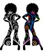 Donna - decorazione 70-80