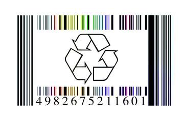 Código barras reciclaje