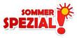 Label Sommer spezial rot