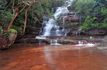 sommersby falls waterfall scenic wilderness view