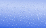 blue water drops - 42835400