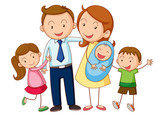 Fototapety family